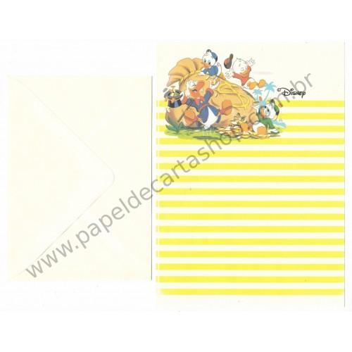 Conjunto de Papel de Carta ANTIGO VINTAGE Personagens Disney Tio Patinhas