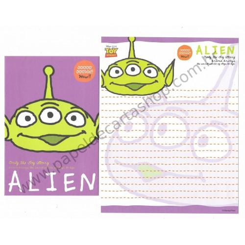 Conjunto de Papel de Carta Disney/Pixar Toy Story Alien2