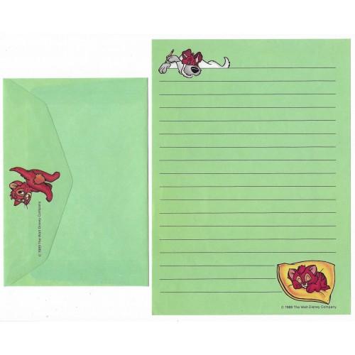 Conjunto de Papel de Carta ANTIGO Personagens Disney CVD