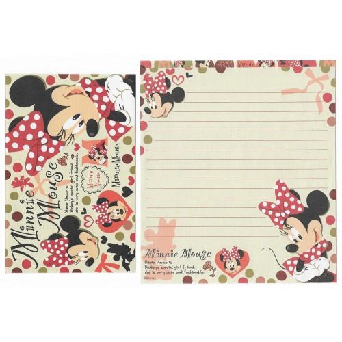 Kit 2 Conjuntos de Papel de Carta Disney Minnie Mouse CVM