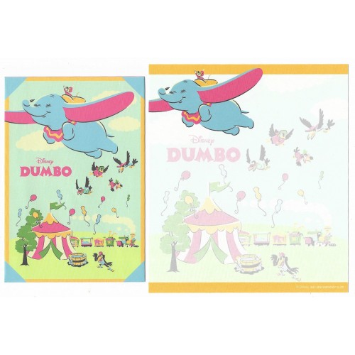 Kit 2 Conjuntos de Papel de Carta Disney Dumbo