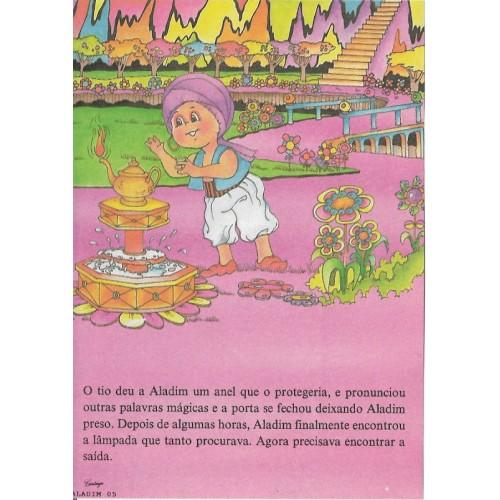 Papel de Carta CARTIUGE Personagens Aladim 05
