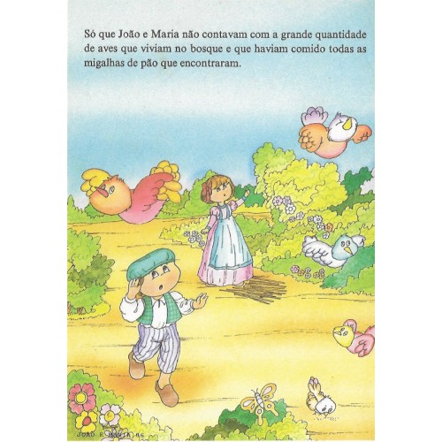 Papel de Carta CARTIUGE Personagens João e Maria 06