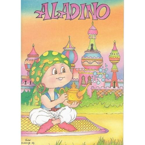 Papel de Carta CARTIUGE Personagens Aladim 01