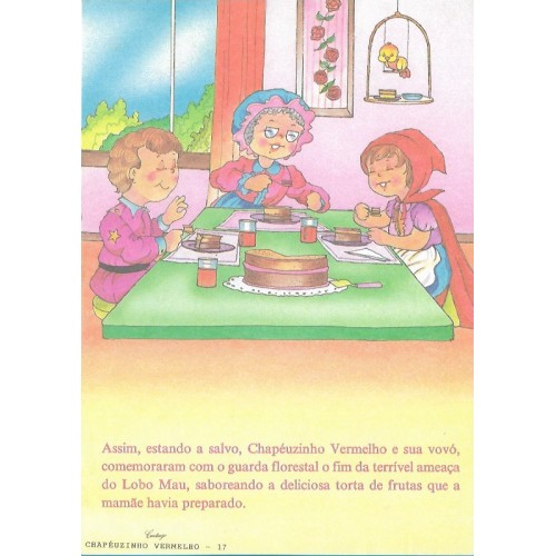 Papel de Carta CARTIUGE Personagens Chapeuzinho Vermelho 17