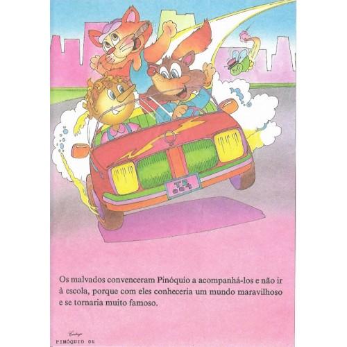 Papel de Carta CARTIUGE Personagens Pinóquio 06