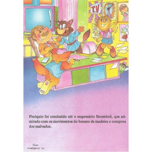 Papel de Carta CARTIUGE Personagens Pinóquio 07
