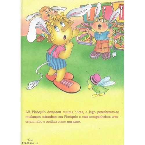 Papel de Carta CARTIUGE Personagens Pinóquio 12