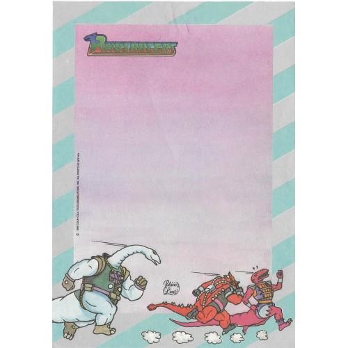 Papel de Carta AVULSO Coleção Palacio's Line Dinosaucers (CAZ)