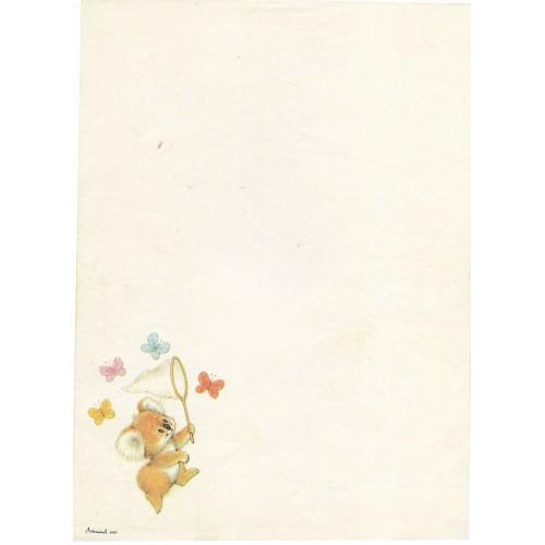 Papel de Carta Antigo Coleção Artesanal - 06563