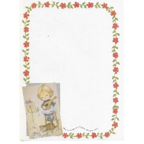 Papel de Carta Antigo Coleção Artesanal - 06565