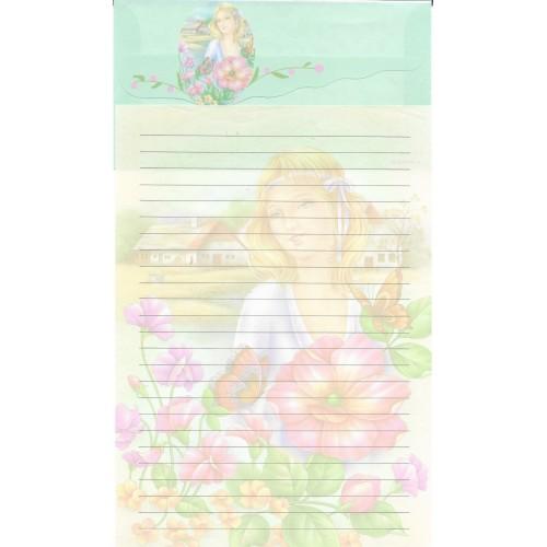 Conjunto de Papel de Carta Antigo Importado LP18011 B