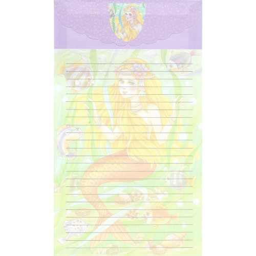 Conjunto de Papel de Carta Antigo Importado LP18005 A
