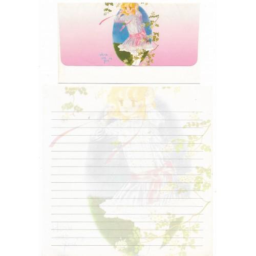 Conjunto de Papel de Carta Antigo CANDY CANDY (CBR)