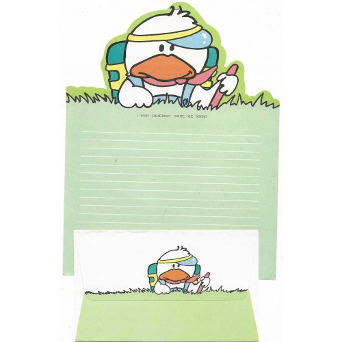 Conjunto de Papel de Carta Antigo Patsy Duck (CVD)