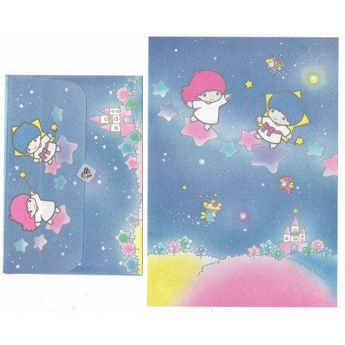 Conjunto de Papel de Carta Antigo Little Twin Stars (STA)