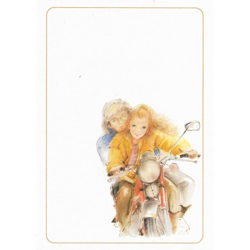 Papel de Carta Antigo Coleção Miss Sprite 06M C1
