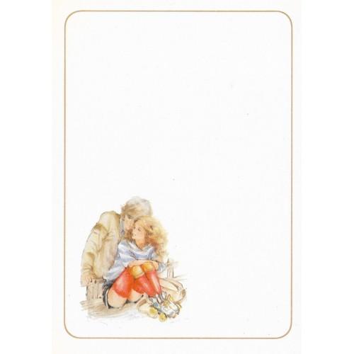 Papel de Carta Antigo Coleção Miss Sprite 02MINI C1