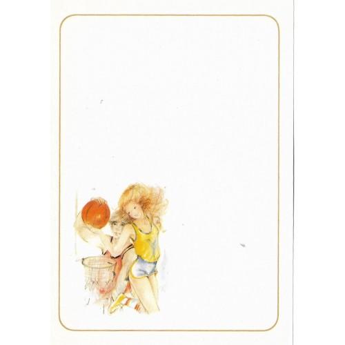 Papel de Carta Antigo Coleção Miss Sprite 05MINI C1