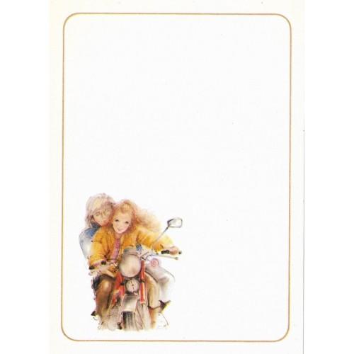 Papel de Carta Antigo Coleção Miss Sprite 06MINI C1