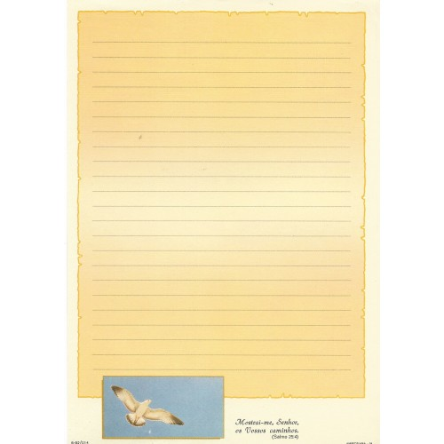 Papel de Carta AMBROSIANA 04 6-52/014