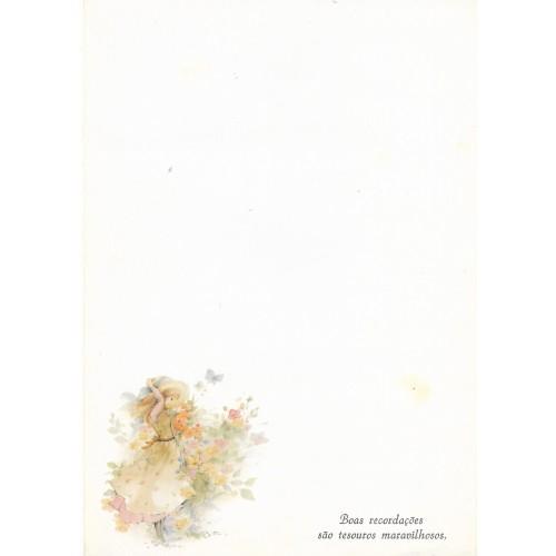 Papel de Carta Antigo Coleção Primavera 05M