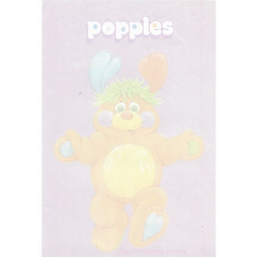Papel de Carta AVULSO Antigo G Popples CLL