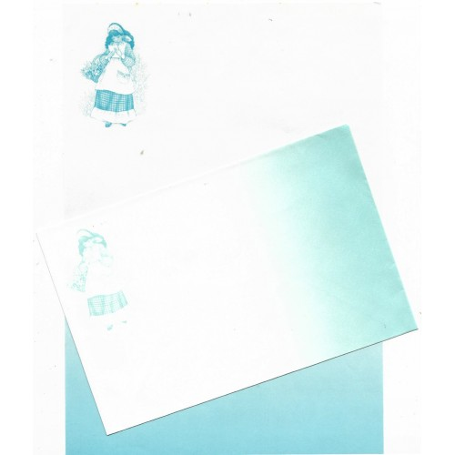 Conjunto de Papel de Carta ANTIGO Sunny & Candy Mod 1 CAZ