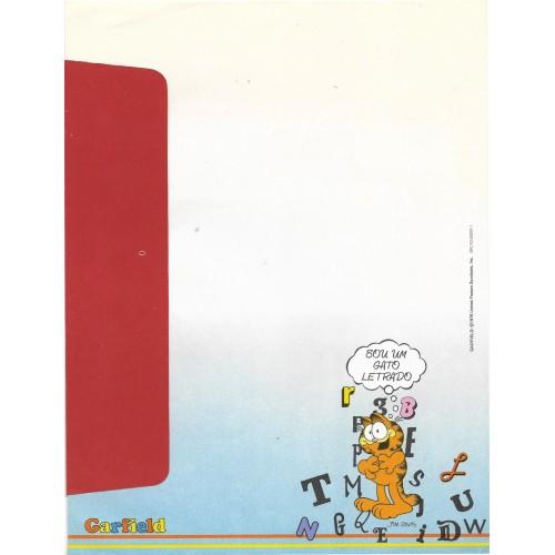 Anos 80. Conjunto de Papel de Carta Garfield N.50002-1 CVM