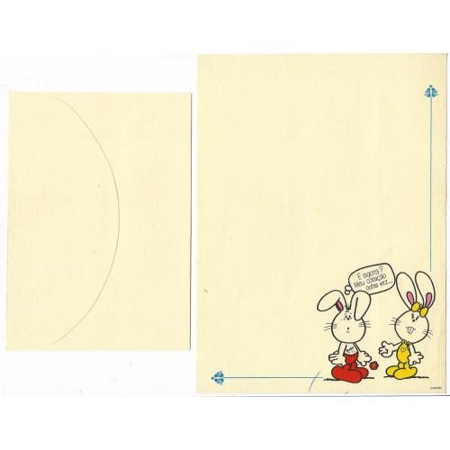 Conjunto de Papel de Carta Banny & Bennie1 6-50/000 Ambrosiana