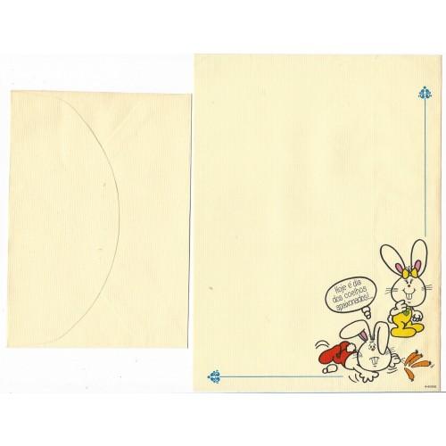 Conjunto de Papel de Carta Banny & Bennie2 6-50/000 Ambrosiana