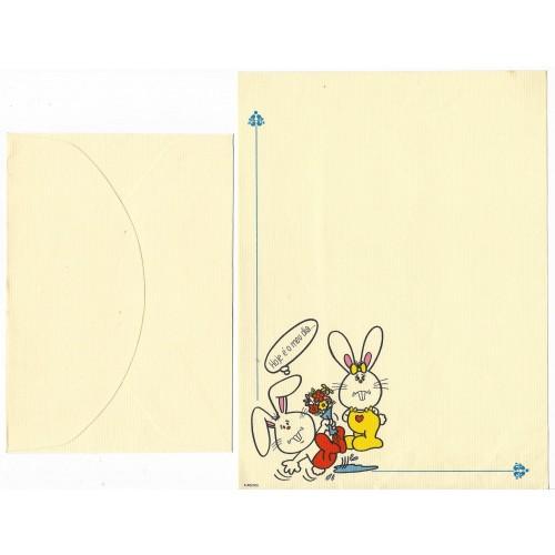 Conjunto de Papel de Carta Banny & Bennie3 6-50/000 Ambrosiana