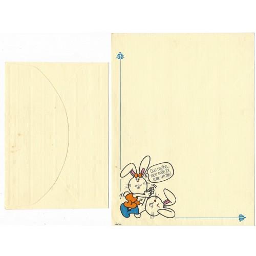 Conjunto de Papel de Carta Banny & Bennie4 6-50/000 Ambrosiana