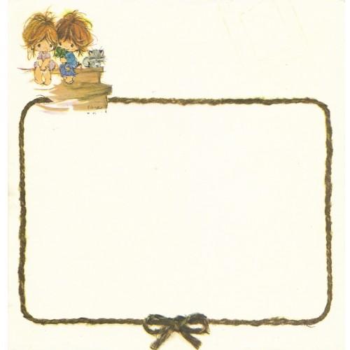 Papel de Carta Antigo Elena Urchins - Trevo de 4 Folhas