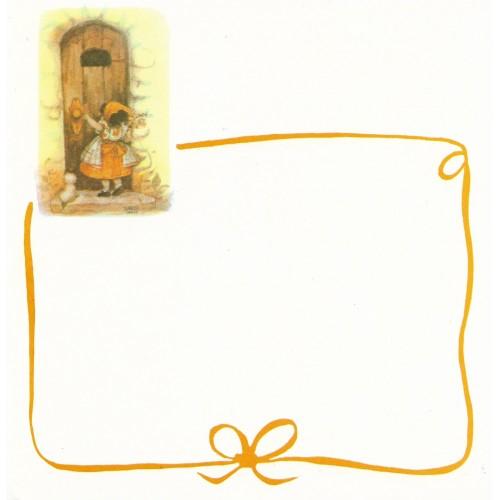 Papel de Carta Antigo Barbi Sargent CLA1
