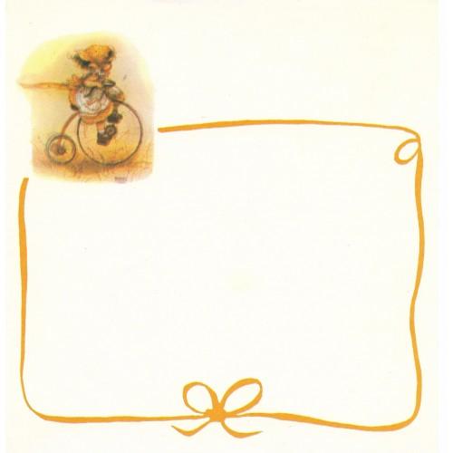 Papel de Carta Antigo Barbi Sargent CLA2