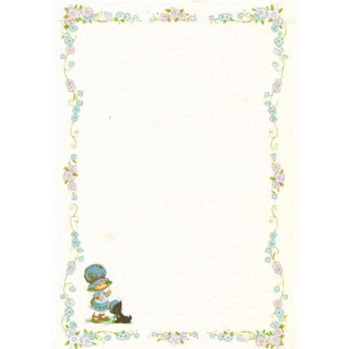 Papel de Carta Antigo Bonnie Bonnets CAZ4