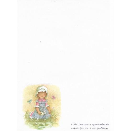 Papel de Carta Antigo Constanza 2 COM FRASE