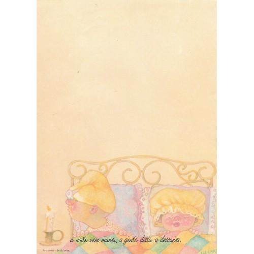 Papel de Carta Coleção Bem Querer 08 - SALESIANA