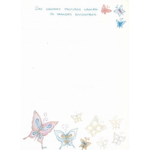 Papel de Carta Coleção BIA F03