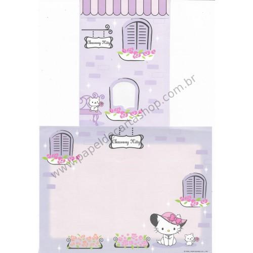 Ano 2008. Conjunto de Papel de Carta Charmmy Kitty CLL Sanrio