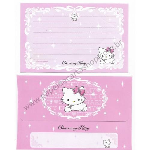 Ano 2006. Conjunto de Papel de Carta P Charmmy Kitty CRS Sanrio
