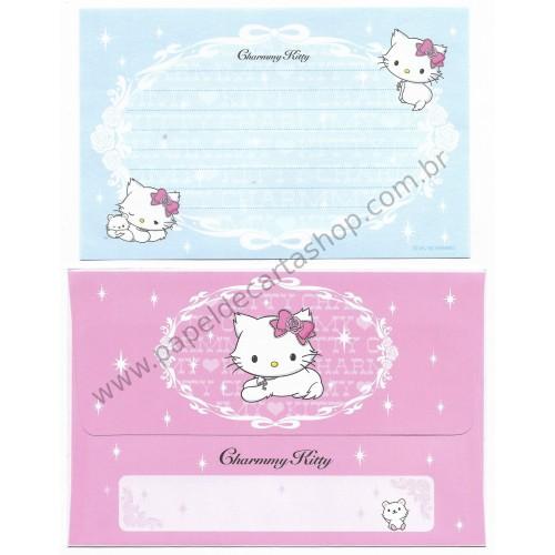Ano 2006. Conjunto de Papel de Carta P Charmmy Kitty CAZ Sanrio