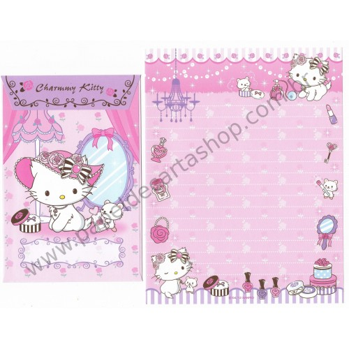 Ano 2012. Conjunto de Papel de Carta P Charmmy Kitty Beauty Sanrio