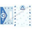 Ano 2011. Conjunto de Papel de Carta Tuxedosam Friendship Sanrio