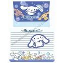 Ano 2004. Conjunto de Papel de Carta Cinnamoroll Umbrella Sanrio