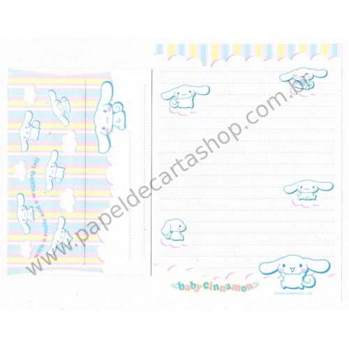 Ano 2002. Conjunto de Papel de Carta Baby Cinnamon Single Sanrio