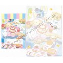 Ano 2004. Conjunto de Papel de Carta Cinnamoroll Party Sanrio