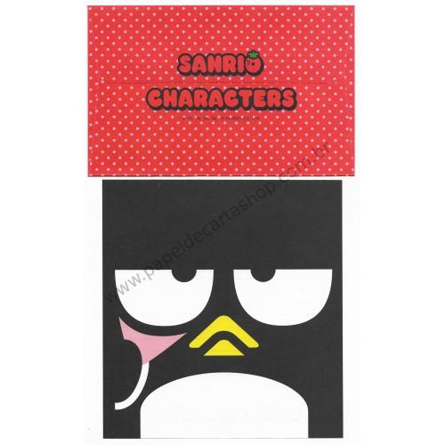 Ano 2010. Conjunto de Papel de Carta Badtz-Maru Sanrio 50th Anniversary