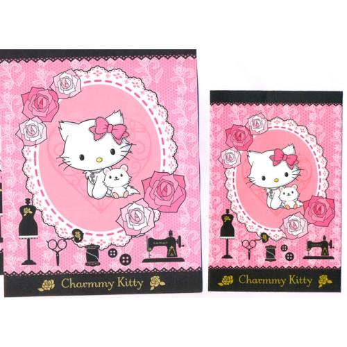 Ano 2008. Conjunto de Papel de Carta Charmmy Kitty WDB Sanrio